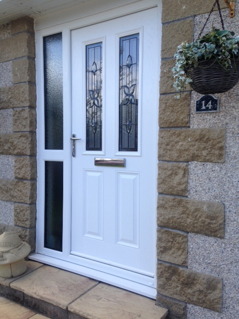 Apex Glass and Glazing Dundee supply and install front doors with the newest technology. & uPVC Doors - Apex Glass and Glazing