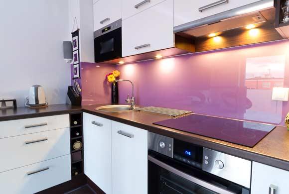 Bespoke Glass Splashbacks Edinburgh | Apex Glass and Glazing Dundee.
